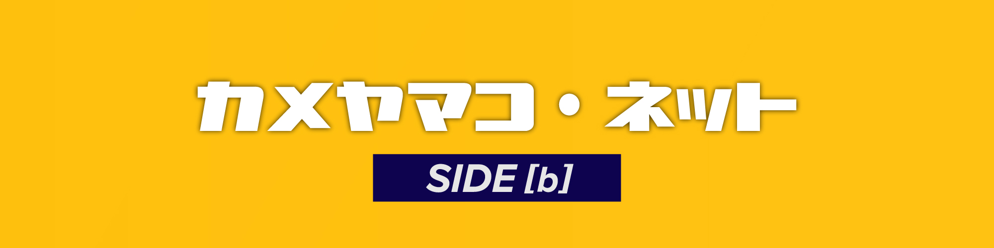 カメヤマコ・ネット SIDE [B]
